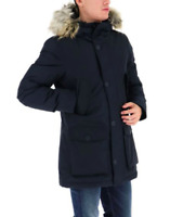 Giubbotto UOMO PENN RICH BY WOOLRICH WYCPS0559 jacket man ORIGINALE BLU e NERO