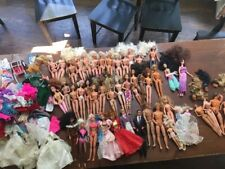 Huge lot of Vintage 52 Barbie and Ken dolls and others with clothes 1966-1997!!!