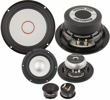 Ground Zero GZPC 16.3SQ-ACT 3way audiophile car speaker set
