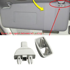 1x Gray Sun Visor Clip Holder Fit For Volkswagen Passat Polo AUDI A6 A7 A8 RS7