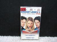 2003 Bridget Jones's Diary Starring Renee Zellweger, Universal Pictures VHS Tape