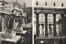 BANK OF ENGLAND.Columns figures Bullion Yard, Sir John Soane's contribution 1926