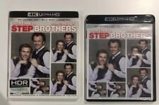 Step Brothers (4K Ultra DVD + 2 Disc Blu-ray) Slipcase Dolby Atmos HDR Like New!