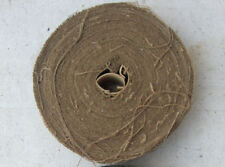 """300 ft of WWII US Army Camouflage LIGHT BROWN Burlap 2"""" Scrim for Helmets & Nets"""