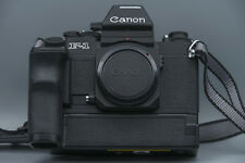 Canon F-1 New SLR Body (Novel) with AE Power Winder FN,+ Focusing Screen FN PA