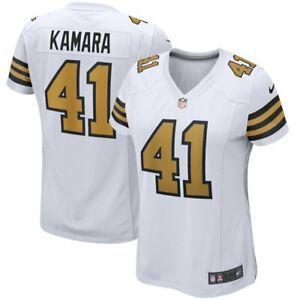 NFL New Orleans Saints Women's Alvin Kamara Game Player Jersey # XX-Large