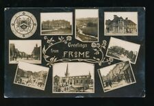 Somerset FROME M/view Used 1908 RP PPC