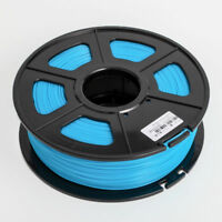 luminous blue 3D Printer Filament 1kg/2.2lb 1.75mm PLA MakerBot RepRap