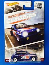 2017 Hot Wheels Car Culture MODERN CLASSICS 1980 RENAULT 5 TURBO - mint on card!