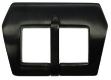 24mm Panatime PVD (Black) Pre-v Style Sew-in Watch Buckle For Panerai