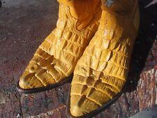 mens7  COWBOY BOOTS aldana 26 western alligator skin or CROCODILE ex vintage co