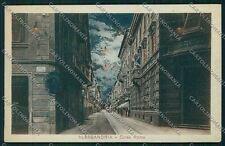 Alessandria città Farmacia Chiaro di luna cartolina QK0384