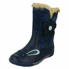 Clarks Girls Boots Nibbles Dot