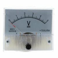 1X(Corrente diretta 0-5 V Voltmetro bianco Pannello analogico del pannello X2H2)