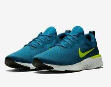 Nike para hombre Odyssey React-Verde abismo/Volt/Azul Force (AO9819-302)