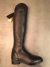 "NEW Blk Tredstep Donatello Boots, US sz 6.5-7, Slim calf 12 1/2"", Reg ht 17 1/3"""