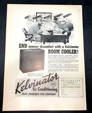 Life Magazine Ad KELVINATOR AIR CONDITIONING 1937 AD A2