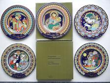 Rosenthal Christmas Plate Wiinblad Porcelain 1980 - 1983 - 1990 Retail