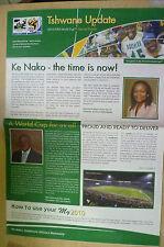 Newspaper- 2010 FIFA World Special Edition: TSHWANE UPDATE; Ke Nako-the time is