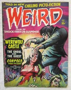 WEIRD  V.2 #8  (7/68)  Eerie Pub. Steve Ditko Art.