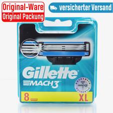 Gillette Mach 3 | Rasierklingen 1x8 | Original OVP | 8 Stück | Gilette Gilete