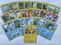 Pokemon TCG McDonald's 2021 25th Anniversary Card Complete Standard Set of 25!
