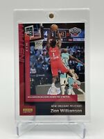2019-20 Panini Instant Zion Williamson RC Rookie Card #134 Peace Dunk 1/2589 SP