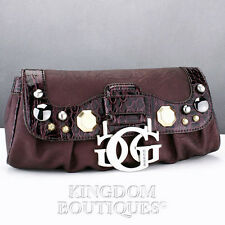FREE Ship USA Handbag GUESS Glamour Mini Ladies Violet New Chic Stylish