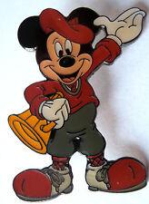 Disney Pin 752: Director Mickey Megaphone Black Metal Back HTF Pre-2000 Retired
