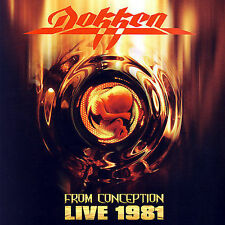 From Conception: Live 1981 [Remaster] by Dokken (CD, Mar-2007, Rhino) NEW Sealed