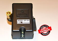 Heavy Duty Pressure Switch for Air Compressor 25 Amp 140-175 PSI 4 Port