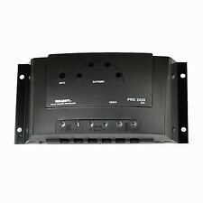 Instapark® PRS3030 12V 24V 30 Amp PWM Solar Power Charge Controller Regulator