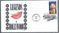 1995 Marilyn Monroe 32c First Day Cover FDC Sc 2967 Bill Norton Cachet BNC