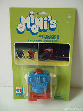Robot Marcheur et cascadeur Mini's Wind-up Ref.1998 / Ceji Bandai [ New/sealed ]