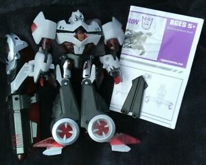 Hasbro Transformers Animated MEGATRON 100% Complete Voyager 2007 Instructions