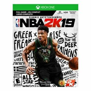 NBA 2k19 2K Xbox One 2019