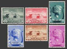 Bélgica B273-B278, Cto.michel 529-534. Reina Isabel Música Fundación, 1940