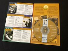 LOUIS ARMSTRONG/THELONIOUS MONK 'JAZZ ICONS' PROMO 2006 DVD SAMPLER—SEALED