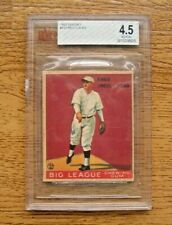 1933 Goudey BVG 4.5 VG-EX+ #137 Red Lucas Rookie Card Cincinnati Reds