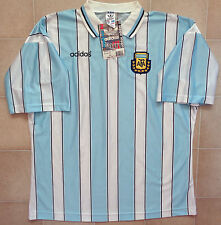 Authentic Adidas Argentina 1996 Home Jersey. Mens XL, NWT.
