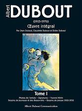 Catalogue complet de l'œuvre d'Albert DUBOUT – Six tomes