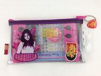 Disney High School Musical Gabriella Girls Pedicure Kit Zipper Case Nail Brush +