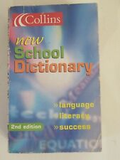 Collins new School English Dictionary, 2nd edition, 2001