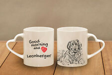 """Leonberger - ein Becher """"Good Morning and love, heart"""" Subli Dog, AT"""