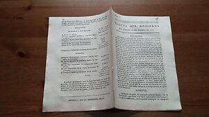 Núm. 5 Gazeta del Gobierno del Sabado 12 de Agosto de 1809 Pueblos de Galicia...