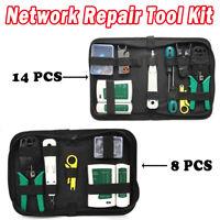 14PC Testeur de Network Réseau Câble Kits d'outils de Réparation d'Ordinateur