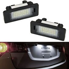 ECLAIRAGE PLAQUE LED BMW SERIE 5 F10 F11 E60 E61 BERLINE TOURING BLANC XENON