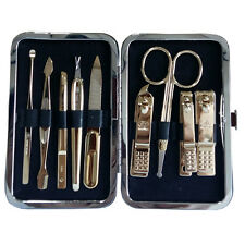 Three Seven 777 Travel Manicure Pedicure Grooming Set,steel,TS-343EXG