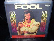 """ELVIS PRESLEY fool / steamroller blues ( rock ) 7""""/45 picture sleeve promo"""
