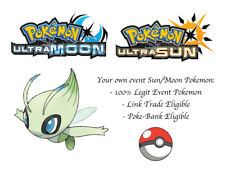 Pokemon Ultra Sun and Moon Ilexs Celebi Japanese Event Pokemon